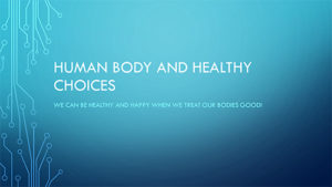 Human Body and Healthy Choices Lab Cover art